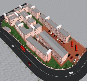 Additional 2nd Floor for Block E, Proposed Block H & J